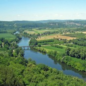 Dordogne River from Domme